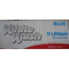 White wash blue 12x800g Bar Soap