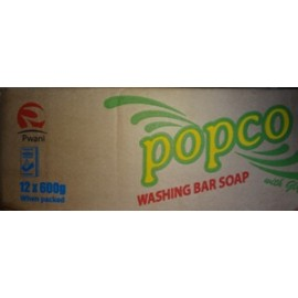 Popco Washing Bar Soap 12 x 600g