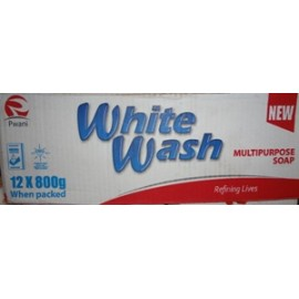 White Wash Multipurpose 12 x 800g Bar Soap
