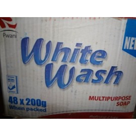 White Wash Multipurpose 48 x 200g Bar Soap